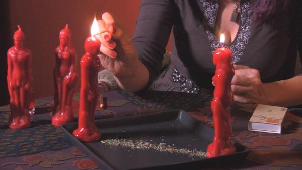 колдовство и свечи
