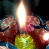 магия, горящая свеча