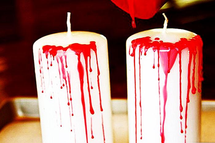 кровавые свечи